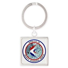 Apollo 15 Mission Patch Square Keychain