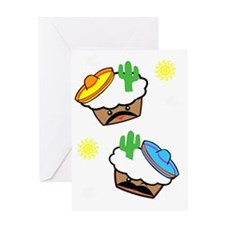 mexican muffins Greeting Card