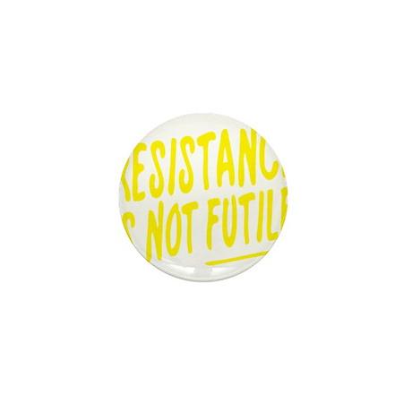 Resistance is not futile Mini Button