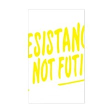 Resistance is not futile Decal