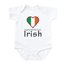 Happily Married Irish Onesie