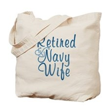 Unique Navy retired Tote Bag