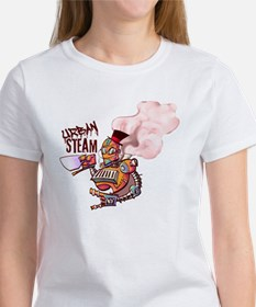 Color Washed Steambot Logo Tee