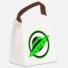 UFO In Flight Canvas Lunch Bag