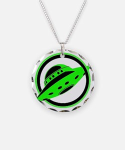 UFO In Flight Necklace