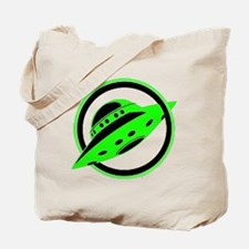 UFO In Flight Tote Bag