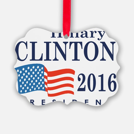 Hillary Clinton 2016 Ornament