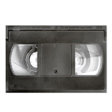 VHS tape Postcards (Package of 8)