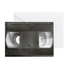 VHS tape Greeting Card