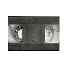VHS tape Rectangle Magnet