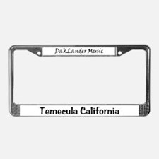 DakLander Music License Plate Frame