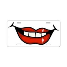 00010_Lips.gif Aluminum License Plate