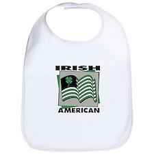 Irish American - Shamrock Bib