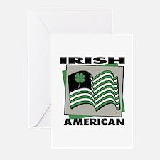 Irish American - Shamrock Greeting Cards (Package