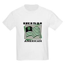 Irish American - Shamrock Kids T-Shirt