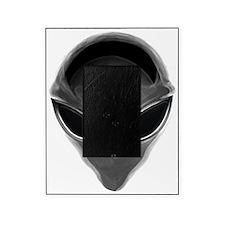 Gray Alien Picture Frame