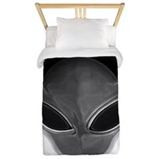 Gray Alien Twin Duvet
