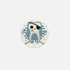 dentist-pirate-T Mini Button
