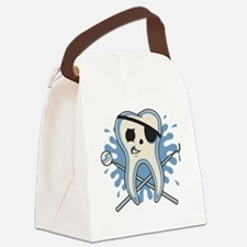 dentist-pirate-T Canvas Lunch Bag