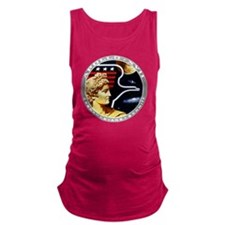 Apollo 17 Mission Patch Maternity Tank Top