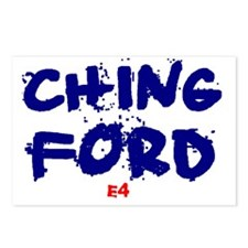 CHINGFORD - E4 Postcards (Package of 8)
