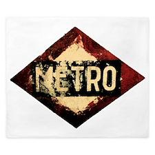 Madrid Metro King Duvet