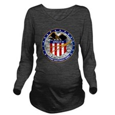 Apollo 16 Mission Pa Long Sleeve Maternity T-Shirt