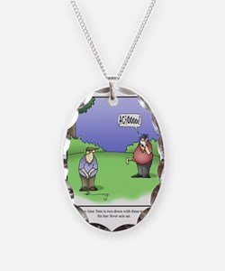 GOLF 067 Necklace Oval Charm