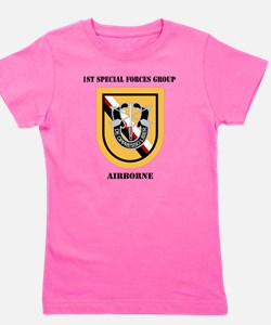 DUI - 1st Special Forces Group (Airborn Girl's Tee