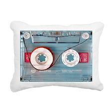 audio cassette pillow ca Rectangular Canvas Pillow