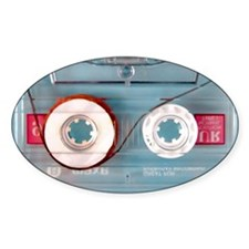 audio cassette pillow case Decal