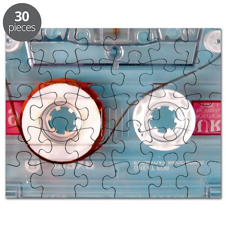 audio cassette pillow case Puzzle