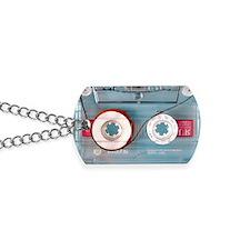 audio cassette pillow case Dog Tags