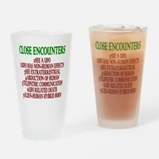 Close Encounters Drinking Glass