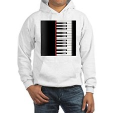 Piano Keyboard Queen Duvet Hoodie