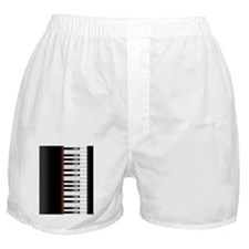 Piano Keyboard Twin Duvet Boxer Shorts