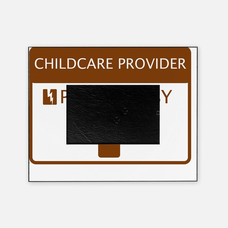 Childcare Provider Powered by Coffee Picture Frame
