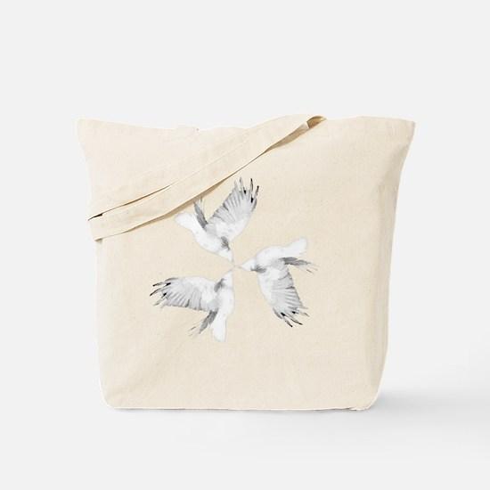 Crow Tessellation Tote Bag
