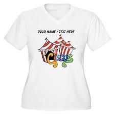 Custom Circus Plus Size T-Shirt