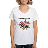 Circus Womens V-Neck T-shirts