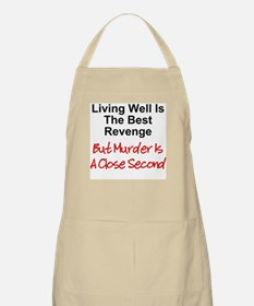 Murder Is Second BBQ Apron
