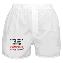 Murder Is Second Boxer Shorts