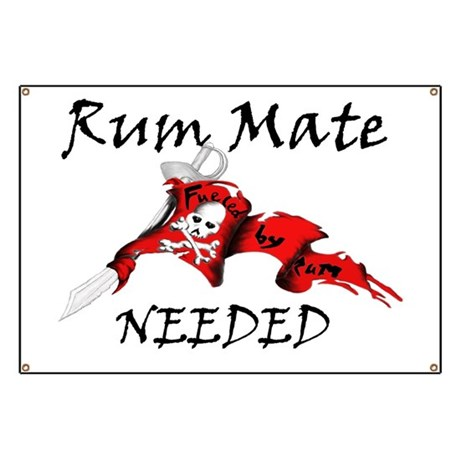 Rum Mate Needed Banner