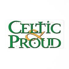 Celtic  Proud Logo Aluminum License Plate