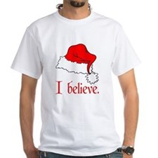 I Believe in Santa Ash Grey T-Shirt