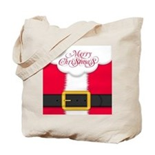 Merry Christmas Queen Duvet Tote Bag