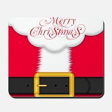 Merry Christmas Queen Duvet Mousepad