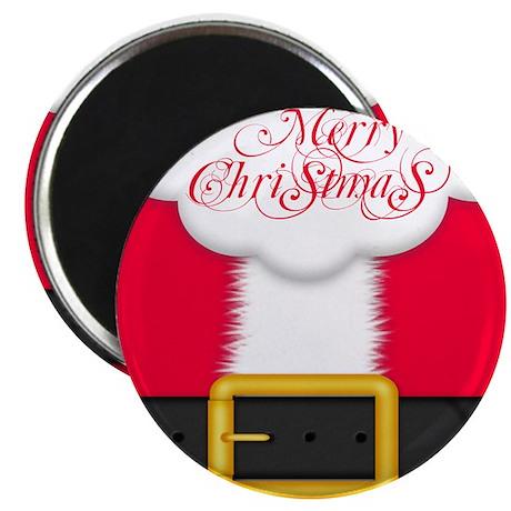 Merry Christmas Queen Duvet Magnet