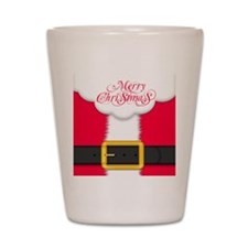Merry Christmas Queen Duvet Shot Glass