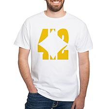 412 Gold/Whilte-D Shirt